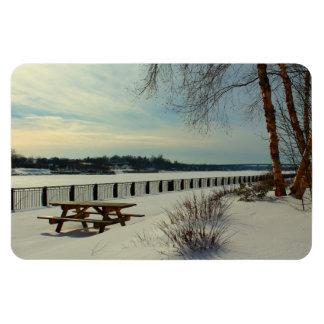 Bangor Waterfront in Bangor, Maine Magnet