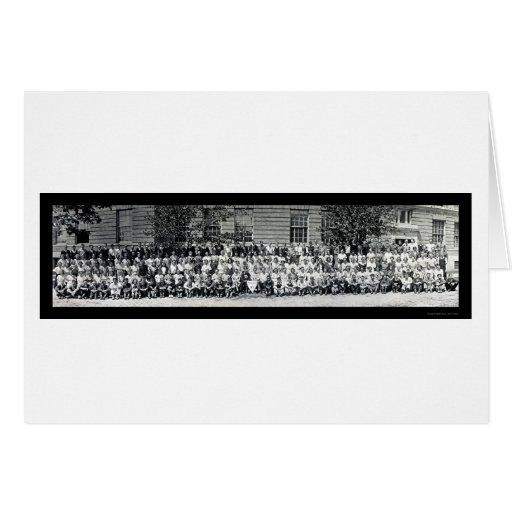 Bangor YO foto 1933 de la clase mayor Tarjeton