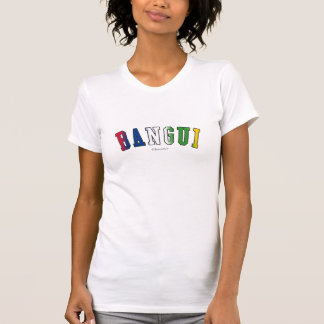Bangui in Central African Republic national flag c T-shirt