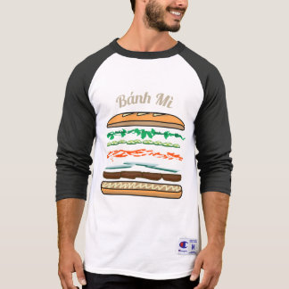 Banh Mi Vietnamese sandwich French bread baguette T-Shirt