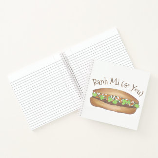 Banh Mi & You Pork Sandwich Vietnamese Food Foodie Notebook