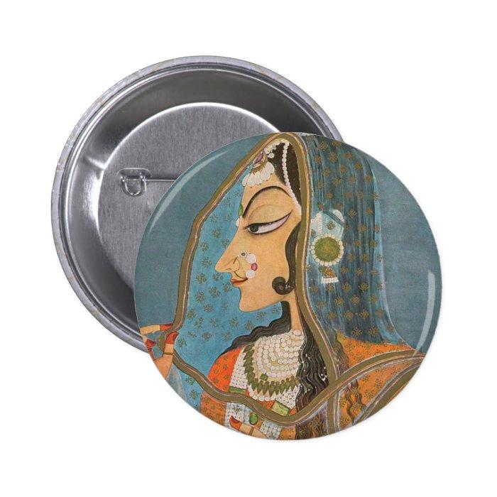 Bani Thani Pinback Button