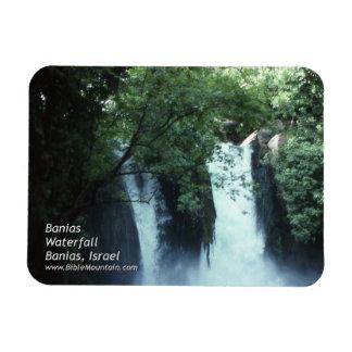 Banias Waterfall Magnet