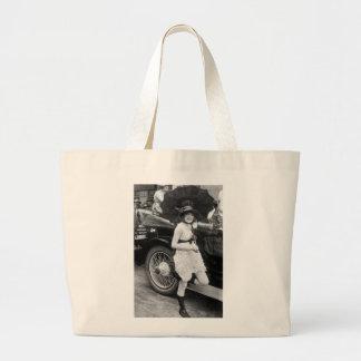Bañista de Los Ángeles, 1900s tempranos Bolsas De Mano