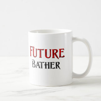 Bañista futuro taza básica blanca