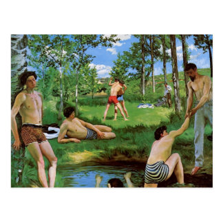 Bañistas de Federico Bazille- (escena del verano) Tarjetas Postales