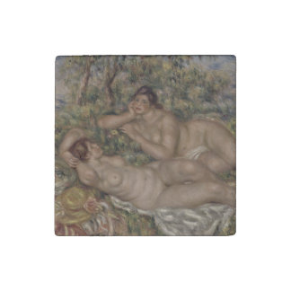 Bañistas de Pierre-Auguste Renoir Imán De Piedra