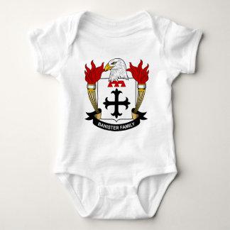 Banister Family Crest Baby Bodysuit