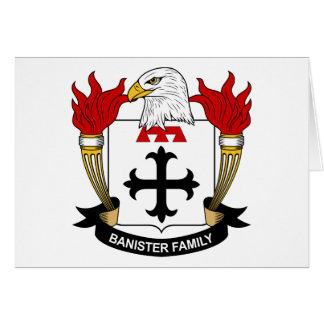 Banister Family Crest Card