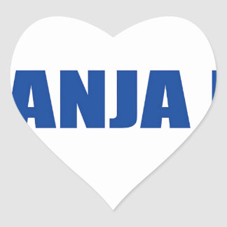 Banja Luka, Bosnia Heart Stickers