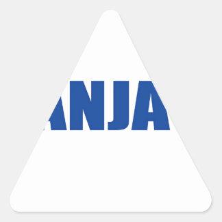 Banja Luka, Bosnia Triangle Stickers