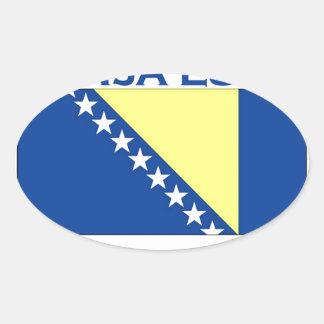 Banja Luka Oval Sticker
