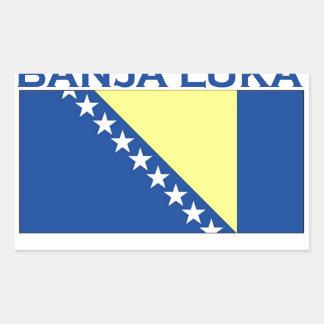 Banja Luka Rectangle Stickers