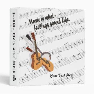 Banjo and Guitar Version- What Feelings Sound Like Binder