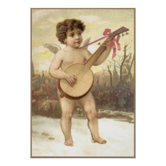 Banjo Angel Poster
