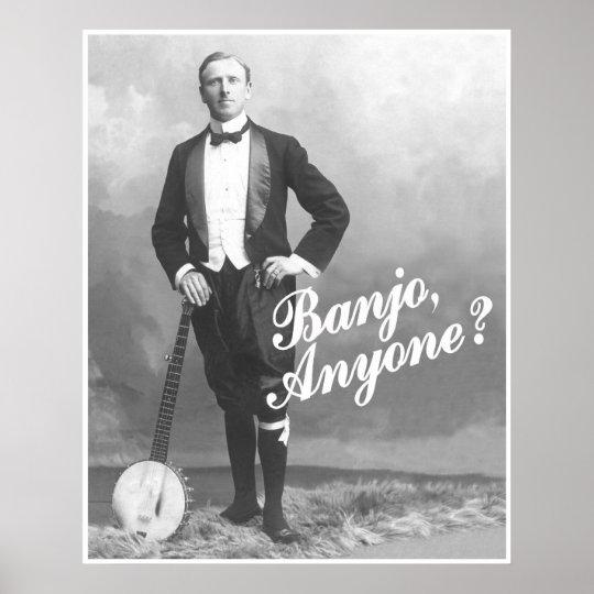 Banjo Anyone? Poster