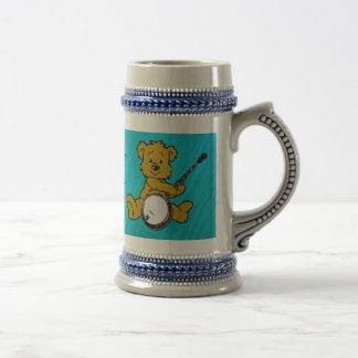BANJO BEAR-MUG TAZAS DE CAFÉ