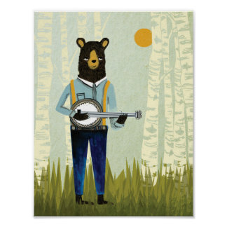 Banjo Bear - Original Version Poster