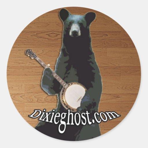 Banjo Bear Sticker