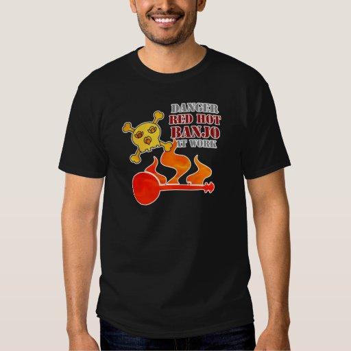 Banjo candente camisas
