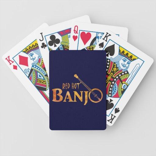 Banjo candente cartas de juego