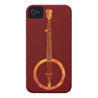 Banjo candente iPhone 4 cárcasa