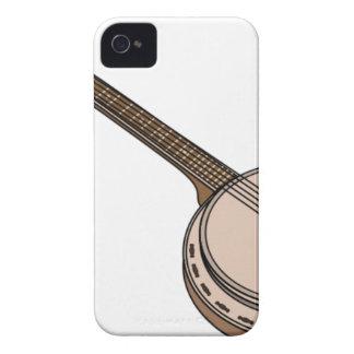 Banjo Cartoon Case-Mate iPhone 4 Case