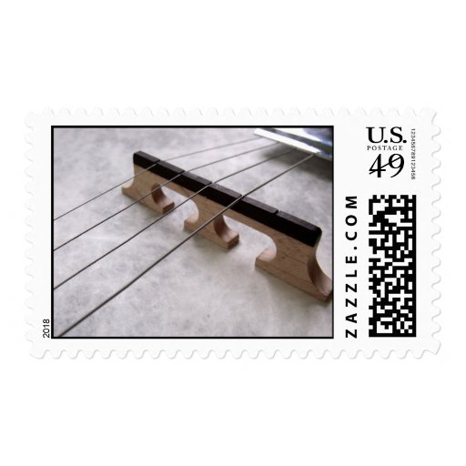 Banjo Closeup Photo Stamps