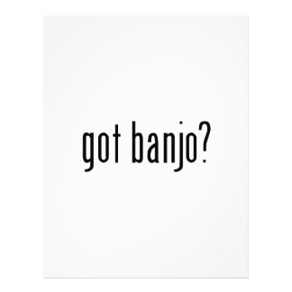 ¿banjo conseguido? membrete personalizado