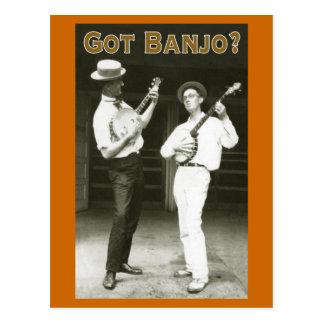 ¿Banjo conseguido? Postal