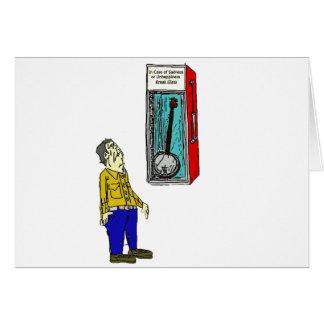 Banjo de la emergencia tarjeta de felicitación