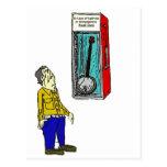 Banjo de la emergencia tarjeta postal