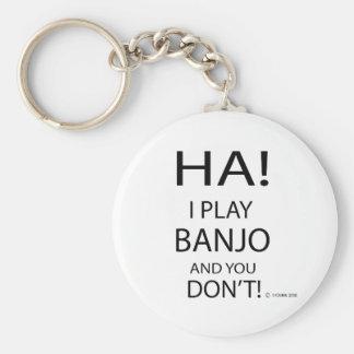 Banjo de la ha llavero redondo tipo pin