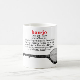 Banjo Definition Mug