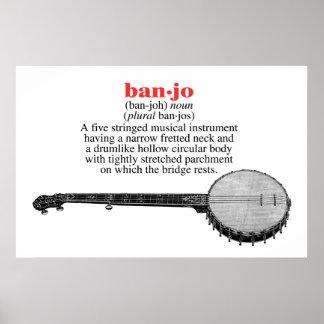 Banjo Definition Poster