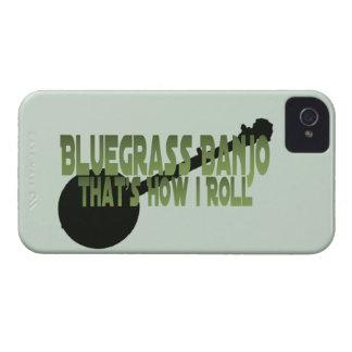 Banjo del Bluegrass. Ése es cómo ruedo iPhone 4 Case-Mate Cobertura