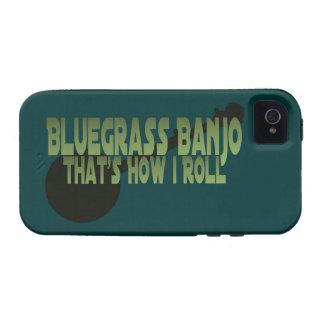 Banjo del Bluegrass. Ése es cómo ruedo iPhone 4/4S Fundas