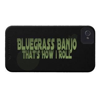 Banjo del Bluegrass. Ése es cómo ruedo iPhone 4 Coberturas