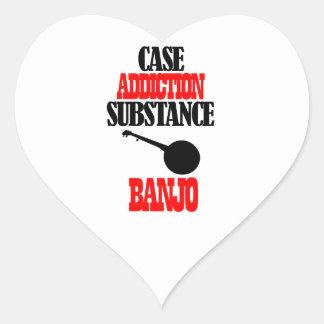 BANJO designs Heart Sticker