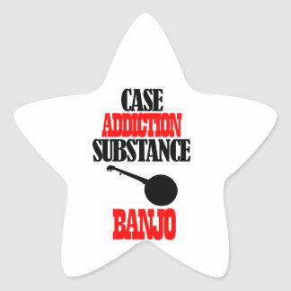 BANJO designs Star Sticker