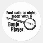 Banjo divertido pegatinas