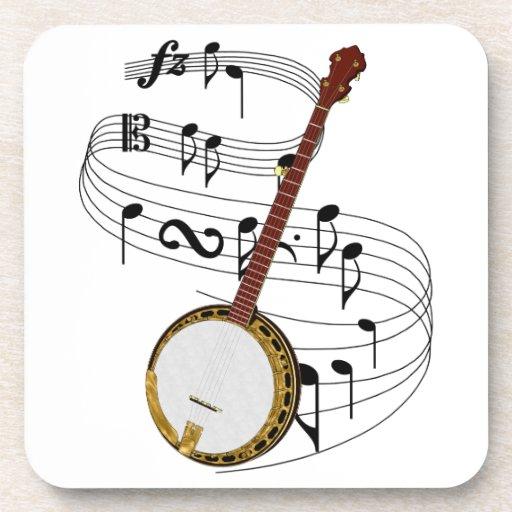 Banjo Drink Coaster
