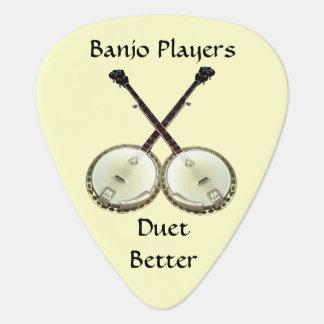 Banjo Duet Pick Guitar Pick