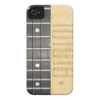 Banjo Fretboard Sheet Music Blackberry Bold Case
