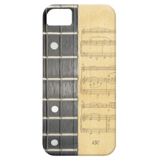 Banjo Fretboard Sheet Music iPhone 5 Case