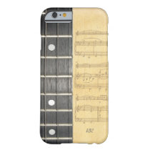 Banjo Fretboard Sheet Music iPhone 6 Case at Zazzle