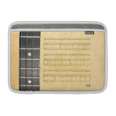 Banjo Fretboard Sheet Music Macbook Air 11