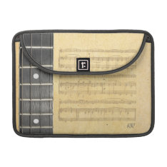 Banjo Fretboard Sheet Music Macbook Pro 13