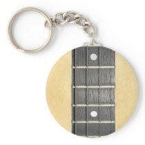 Banjo Fretboard Standard Key Chain
