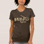 Banjo Girl T Shirts